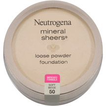 Neutrogena Mineral Sheers Loose Powder Foundation 50 Soft Beige