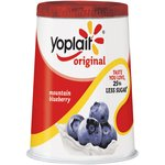 Yoplait Original Mountain Blueberry Yogurt