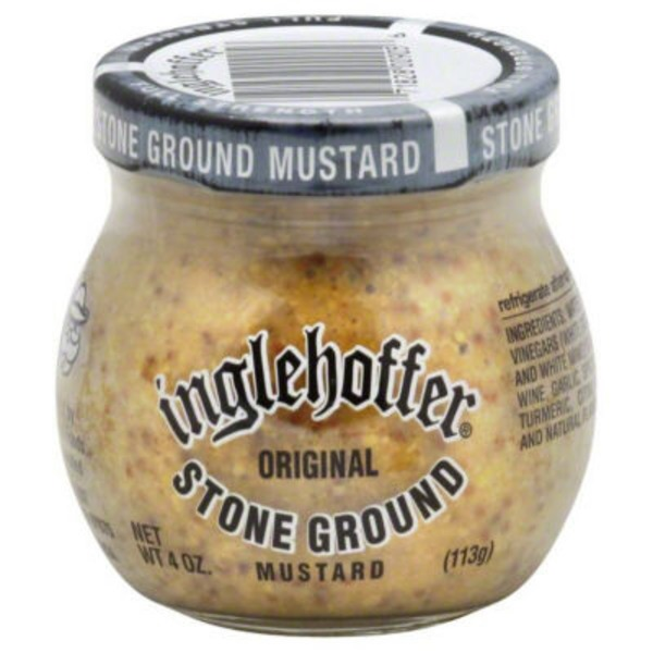 Inglehoffer Stone Ground Mustard Original