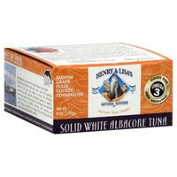 Henry & Lisa's Natural Seafood Solid White Albacore Tuna