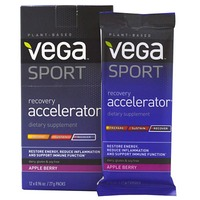 Vega Sport Recovery Accelerator Apple Berry Dietary Supplement