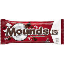 Mounds Dark Chocolate Coconut Filled King Size Candy Bar