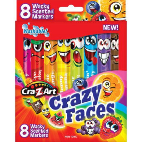 Cra Z Art Crazy Faces Scented Markers