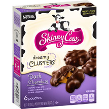 Skinny Cow Dreamy Clusters Dark Chocolate Candy