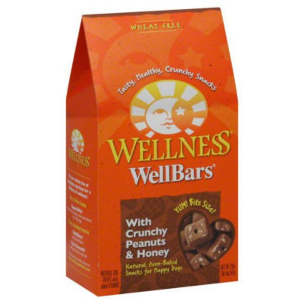 Wellness WellBars With Crunchy Peanuts & Honey