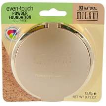 Milani Even-Touch Powder Foundation Natural