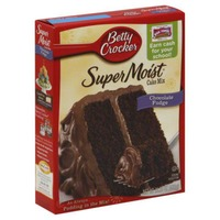 Betty Crocker Favorites Super Moist Chocolate Fudge Cake Mix