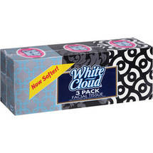 White Cloud Facial Tissue (Pack of