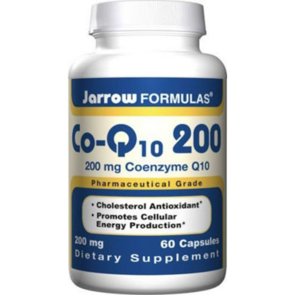 Jarrow Formulas Co-Q10 200 mg Capsules