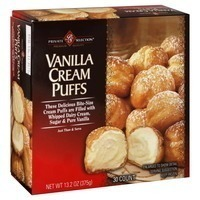 Kroger Private Selection Miniature Vanilla Cream Puffs