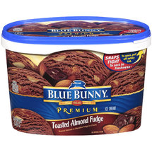 Blue Bunny Premium Toasted Almond Fudge Ice Cream