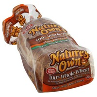 Nature's Own 100% Whole Wheat with Honey Bread