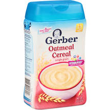 Gerber Oatmeal Baby Cereal