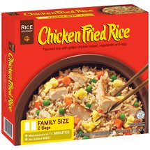Rice Gourmet Chicken Fried Rice with Vegetables ; Egg