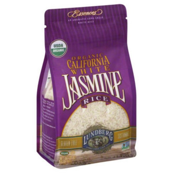 Lundberg Family Farms OG California White Jasmine Organic 2 lb Rice