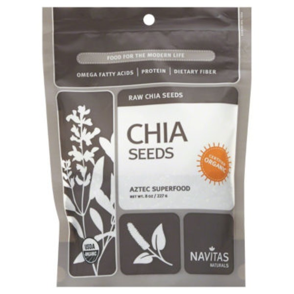 Navitas Naturals Organic Whole Chia Seeds