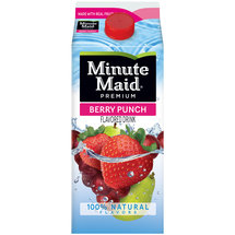 Minute Maid Premium Berry Punch Flavored Juice Drink
