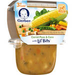 Gerber 3rd Foods Carrot Peas & Corn with Lil' Bits