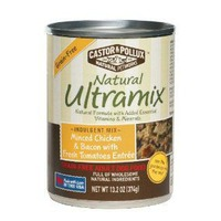 Natural Ultramix Adult Grain-Free Minced Chicken & Bacon with Fresh Tomatoes Dog Food Entree