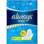Always Maxi Flexiwings Regular Pads