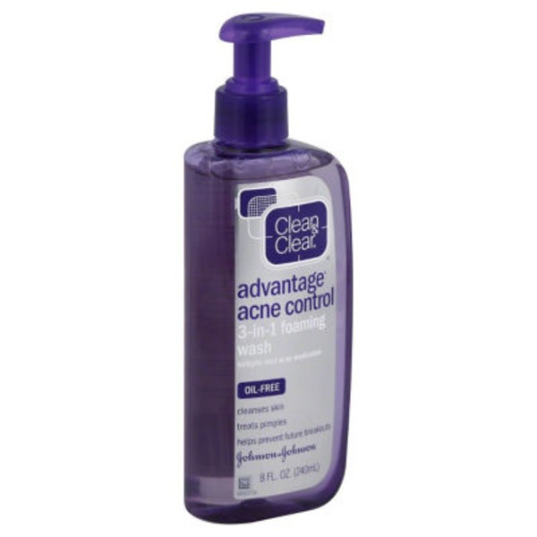 Clean & Clear® Advantage Acne Control 3-in-1 Foaming Wash Posted 3/12/2014 Acne Treatments
