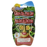 Montagne Jeunesse Squeezed Lemon Green Tea Peel Off Green Tea & Ginger Detox & Pore Cleansing Masque