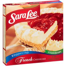 Sara Lee Whipped & Fluffy Strawberry French Cheesecake