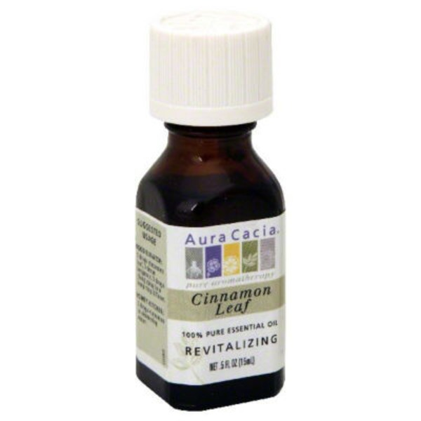 Aura Cacia Cinnamon Leaf Essential Oil