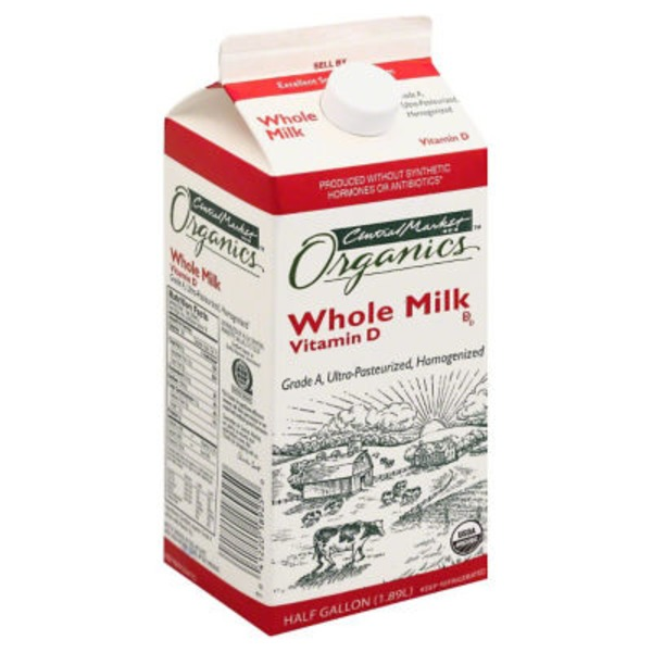 Central Market Vitamin D Whole Milk