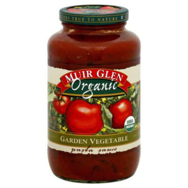 Muir Glen Organic Garden Vegetable Pasta Sauce