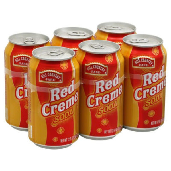 Hill Country Fare Red Creme Soda