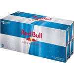 Red Bull Sugar Free With Taurine Energy Drink 12 Ct/99.6 Fl Oz