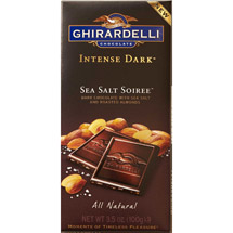 Ghirardelli Chocolate Intense Dark Chocolate In Sea Salt Soiree