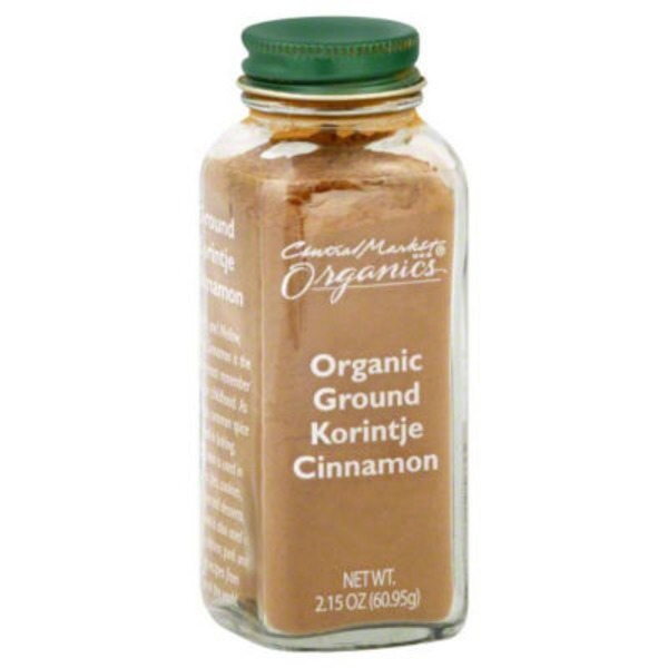 Central Market Organic Ground Korintje Cinnamon
