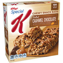 Kellogg's Special K Salted Caramel Chocolate Chewy Snack Bars