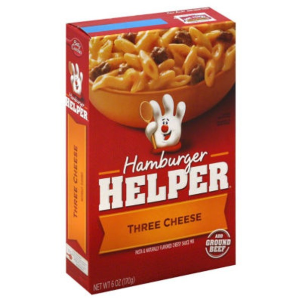 Betty Crocker Three Cheese Hamburger Helper