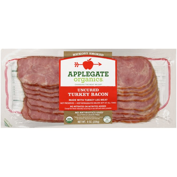 Applegate Organics Uncured Turkey Bacon