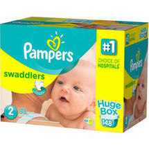 Pampers Swaddlers Diapers Huge Box Size 2