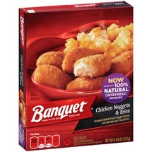 Banquet Chicken Nuggets & Fries Frozen Entree
