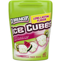 Ice Breakers Ice Cubes Sugar Free Kiwi Watermelon Gum