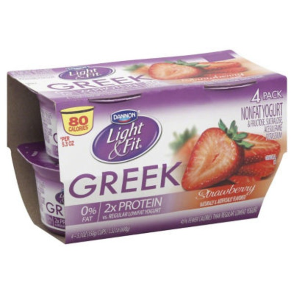 Light & Fit Greek Strawberry Light & Fit Greek Yogurt