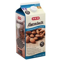 H.E.B Almond Milk Unsweetened Vanilla Almond Milk