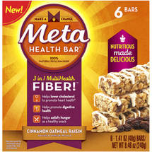 Meta Health Bar 6 count (Choose your Flavor)