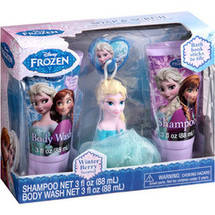 Disney Frozen Elsa Winter Berry Scented Soap & Scrub Set