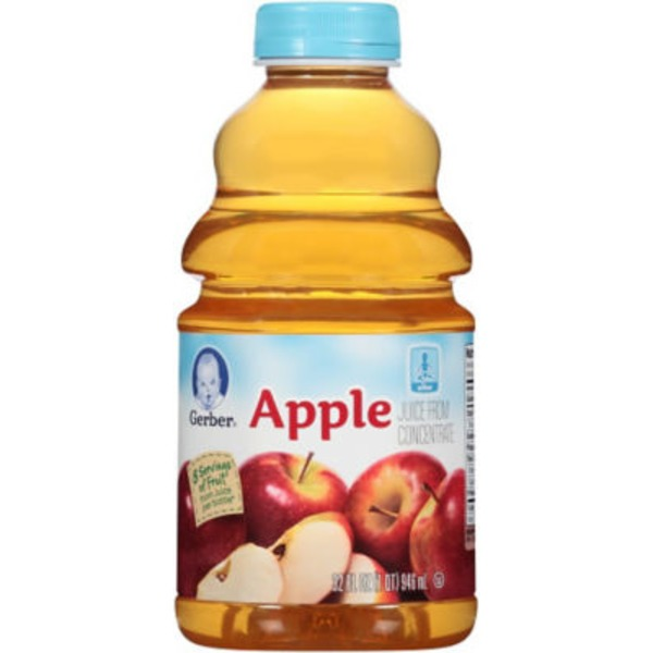 Gerber Juice Apple Juice Fruit