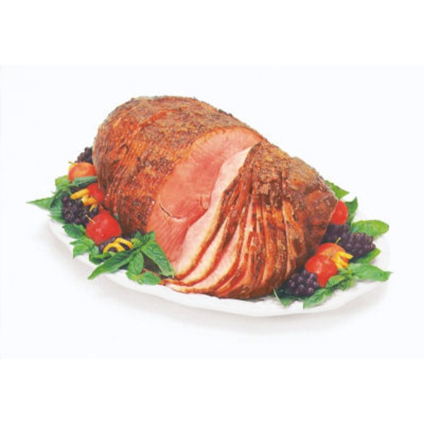 H-E-B Fully Cooked Spiral Sliced Whole Honey Cured Ham