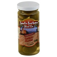 Santa Barbara Olive Co. Garlic Olives