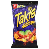Barcel Corn Snack, Hot Chili Pepper & Lime, Takis