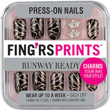 Fing'rs Prints Runway Ready Press-On Nails Show Stopper