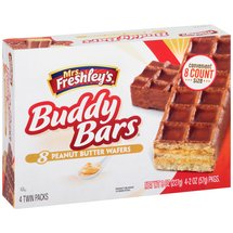 Mrs. Freshley's Buddy Bars Peanut Butter Wafers